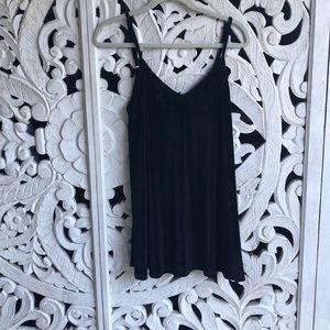 BRANDY MELVILLE DUPE BLACK VELVET DRESS BNWT